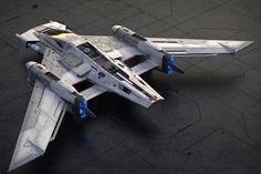 Tri-Wing S-91x Pegasus Starfighter.