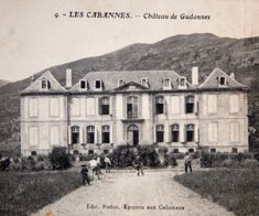 C postcard of the chateau Chateau De Gudanes, French Provincial Home, French Chateau, South Of France, 18th Century, Light In The Dark, Restoration, Castle, Around The Worlds