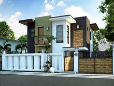 Modern House Design Series: MHD-2015016 | Pinoy ePlans - Modern House Designs, Small House Designs and More!