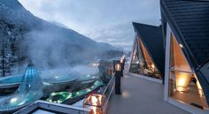 The mesmerizing Aqua Dome thermal resort in Austria