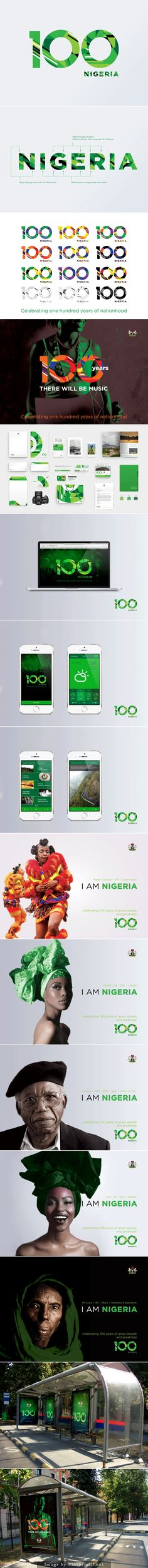 Nigeria 100 by O. Ashiwel Ochui. - created via http://pinthemall.net