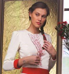 A blouse inspired by folk motives, Czechia