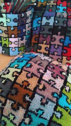 Friendship Bracelets, Puzzle, Quilts, Blanket, Puzzles, Comforters, Blankets, Riddles, Patch Quilt