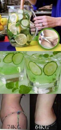 Água de pepino elimina até 4 kg por semana, aprenda essa receita e emagreça rapidamente! #emagrecer #dieta #aguadepepino #pepino #dietaesaude