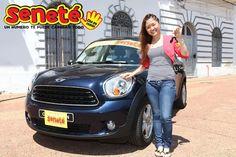#Tbt Alicia Sayuri Sugano de Asunción, se había ganado en el sorteo de aquel 07/10/2012 nada más y nada menos que un hermoso Mini Countryman 0km de ese año.   ¡Definitivamente las mejores marcas y los mejores premios con #Seneté!