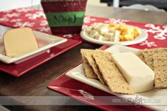 Cheese Party: Love this holiday party idea. Invites, games, etc.