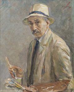 Max Liebermann · Self Portrait with Palette · 1929 · Galerie Neue Meister · Dresden