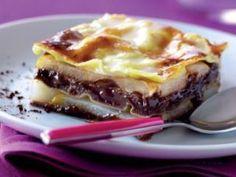 Lasagnes... poire chocolat!, Recette Ptitchef