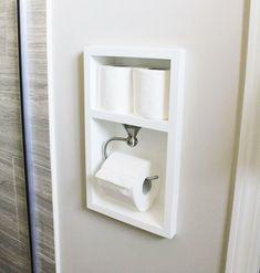 diy recessed toilet paper holder