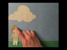 Construction Paper Stop Motion project...just like my 8th grade imovie project