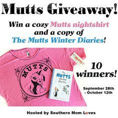 Mutts Giveaway {10 Winners!}