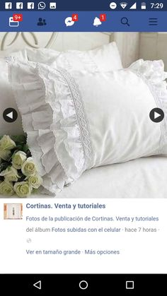 Sewing Pillows, Baby Room, Bed Pillows, Pillow Cases, Shabby, Crafts, Diy, Pillowcases, New Ideas