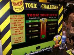 Toxic waste candy challenge im a full toxie head!