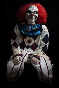 Dead Silence Movie Prop Evil Clown Horror Puppet Haunted Dummy Doll ...
