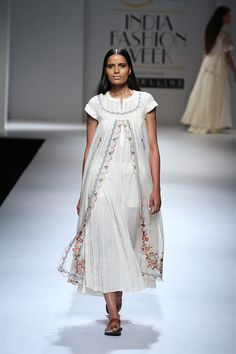 India Fashion Week, Lakme Fashion Week, Asian Fashion, Casual Frocks, A Line Kurti, Heavy Dresses, Indian Designer Wear, Indian Designers, Embroidery Suits