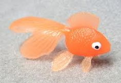 plastic fish - so adorable
