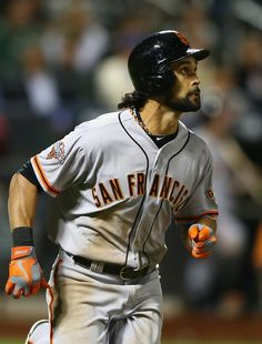 Angel Pagan - San Francisco Giants v New York Mets