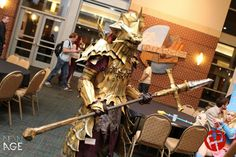 Dragonslayer Ornstein Cosplay: Naka Kon 2013 by Virus-91.deviantart.com on @deviantART