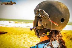 Maelstorm helmet operating with kitesurf bluetooth headset