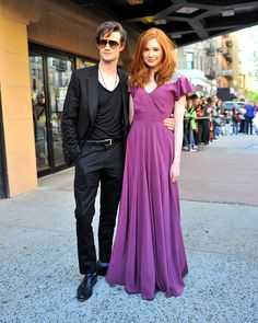 Matt and Karen....stop. I can't handle the amount of attractive in this photo..