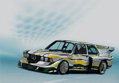 BMW 320i Art car Roy Lichtenstein