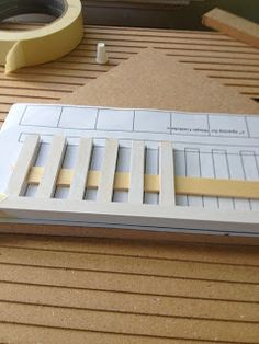 foamboard fence. Blogg where you follow the building of a dollhouse step by step The Wabi Sabi Dollhouse
