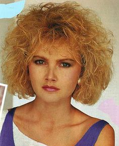 Marvelous 80S Hairstyles Hairstyles And Curly Blonde On Pinterest Hairstyle Inspiration Daily Dogsangcom