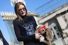 Olivia Palermo por las calles de Paris