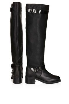Topshop Dodger High Leg Strappy Boots, $270