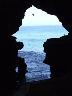 The caves of Hercules near Tangier, Morocco.