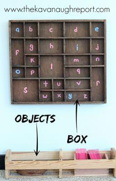 The Kavanaugh Report: DIY Montessori Sound Object Box