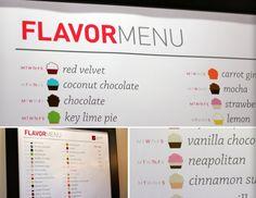 photos of cupcake shops | Cupcake Chic Flavor Menu - Orem Cupcake Shop in Utah