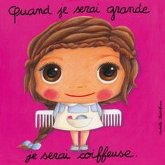 isabelle Kessedjian When I Grow Up, Tooth Fairy, Art Plastique, Book Illustration, Portrait Art, Cute Art, Illustrations Posters, Cute Girls, Art For Kids