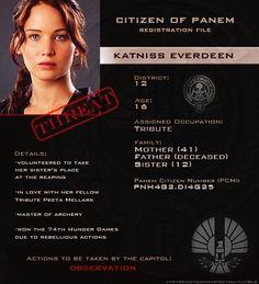 Katniss Everdeen - District 12