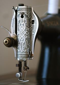 Sewing machine detail | Flickr - Photo Sharing!