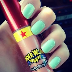Forget Wonder Woman! Give me the mint nails!