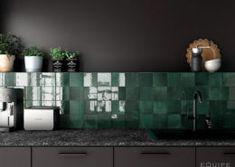 Artisan Alabaster 13,2x13,2 / Art Nouveau Charcoal Grey 20x20