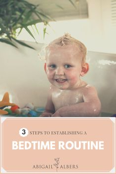 Need help at bedtime? Here are my three steps to creating a bedtime routine for your toddler to help with a better night sleep.    #routine #toddlersleeptips #sleeptipsforkids