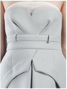 Gorgeous structure! #fashion #tailoring #white