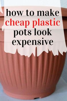 Plastic Planter, Plastic Pots, Garden Globes, Garden Pots, Dollar Store Crafts, Dollar Stores, Rolling Pantry, Light Up Canvas, Solid Wood Dresser