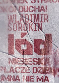 Ice, novel by the Russian writer Vladimir Sorokin. Poster: Adam Glowacki (https://www.behance.net/adamglowacki), Poland. © 2013 Adam Glowacki All Rights Reserved.  #poster #polish #adam #glowacki #ice #vladimir #sorokin #ice #novel #poster #graphic #design #graphic #typo #typography #type #russia #russian #snow