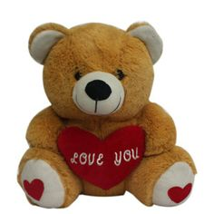 Gift a #sweet #teddy on first #birthday of small baby. http://www.deliverfeelings.com/birthday/gift-ideas.html