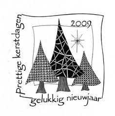 An interesting Christmas card Christmas Tree Sketch, Christmas Doodles, Christmas Icons, Christmas Drawing, Christmas Art, Christmas Holidays, Chrismas Cards, Xmas Cards, Doodles Zentangles