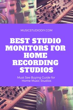 Learn all about music production for home music studios. An article covering music production equipment, recording vocals, music gear organization, recording studio design and setup and more. production 60 Tips for the Best Home Music Production Music Production Equipment, Recording Studio Equipment, Recording Studio Setup, Dj Equipment, Music Production Computer, Music Production Studio, Music Studio Decor, Home Studio Music, Home Music
