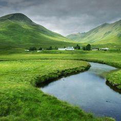 Scottish highlands  From Conde Nast traveler