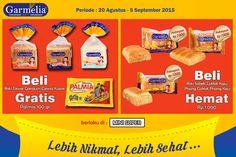 Buat Pecinta Roti Garmelia yang ada di Jakarta Timur, sekarang Roti Garmelia bisa kamu dapatkan di Mini Super Kampung Melayu.