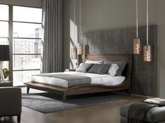 Lexington modern bedroom set at Furnitureland South