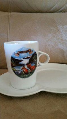 Svartisen. Norge. Mugs, Tableware, Dinnerware, Tumblers, Dishes, Mug, Cups