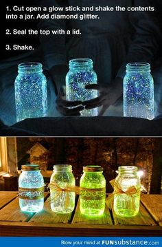 did this project didn't tern out as cool as these but would make a good look for a party