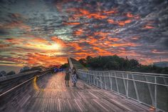 Photo Sky Burn at Henderson Waves by Daniel Aw on 500px